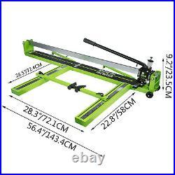 Tile Cutter Manual Tile Cutter 47-Inch Ceramic PorcelainCutting Machine
