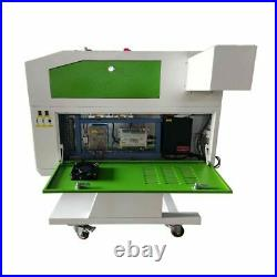 US 500700mm RECI 90W CO2 Laser Engraving Machine Laser Engraver and Cutter USB