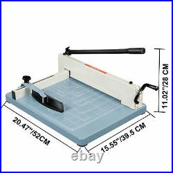 VEVOR 12 400 Sheet Heavy Duty Commercial Paper Cutter Machine Table Use Adjust