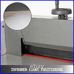 VEVOR 13 Electric Stack Paper Cutter A4 330mm Office Guillotine Cutting Machine