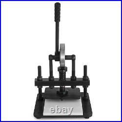 VEVOR 200X140mm Leather Cutting Machine 3307 lbs Die Cutter Max. 10mm PVC/Paper