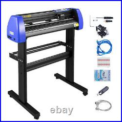 VEVOR 28 Vinyl Cutter/Plotter Sign Cutting Machine Software 20 Blades LCD Black
