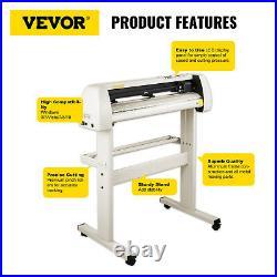 VEVOR 28 Vinyl Cutter/Plotter Sign Cutting Machine Software 20 Blades LCD White
