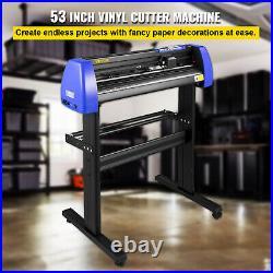 VEVOR 28 Vinyl Cutter/Plotter Sign Cutting Machine Software 20Blades LCD Black