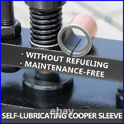 VEVOR Leather Cutting Machine 200X140mm Upper Platen Manual Die Cutter 1.5 Tons