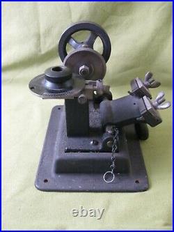 Vintage FW Stewart Mfg Co Key Cutter Duplicator Machine Manual Steampunk