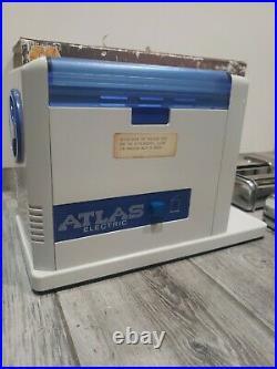 Vintage Marcato Atlas 150 Electric Pasta Machine Original Italian 3 Attachments