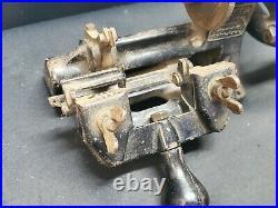 Vintage Yale & Towne MFG Key Cutter Duplicator Machine Manual Steampunk