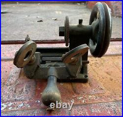 Vintage Yale and Town Key Cutter Duplicator Machine Manual Steampunk Collectible