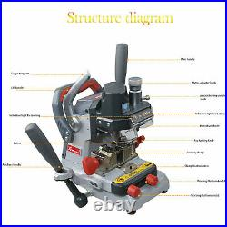 XHORSE DOLPHIN XP007 Cutting Machine Manual Professional With 1.5mm&2.5mm Cutter